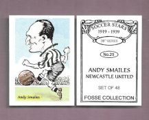 Newcastle United Andy Smailes 25 (FC)